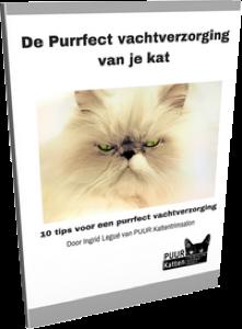 Cover E-book De Purrfect vachtverzorging transparant